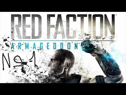 Red Faction : Armageddon прохождение #1