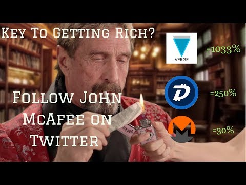 John McAfee Is About to Make Us Crypto Millionaires. (SERIOUSLY) (видео)