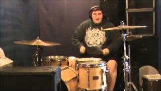 Fall City Fall - Anxiety Attack drum cover