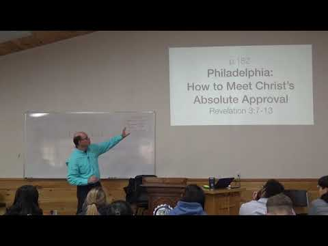 HOW to MEET Christ's ABSOLUTE Approval (Rev. 3.7-13)