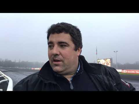 Réaction de Grégory Thorel, entraîneur de Favorite Fligny, 2e du Critérium des 3 ans