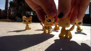 LPS- BBA Part 1 (Black Blood Alliance) Base of the comic