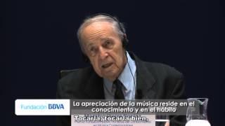 Consejos para músicos y/o pensadores por Pierre Boulez, premio Fronteras del Conocimiento
