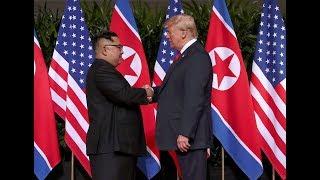 Переговоры Трампа и Кима в Сингапуре   12.06.18