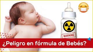 ¡Alerta! Mira cuales fórmulas para bebés contienen químicos tóxicos