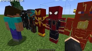 minecraft superhero unlimited mod 1.7.10