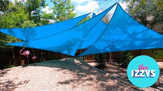 How to Make Backyard Art from these GIGANTIC TARPS