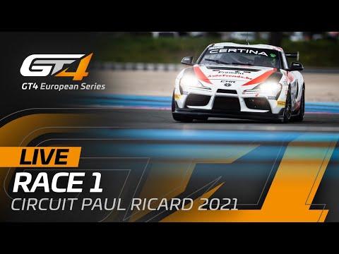 ブランパンGTシリーズ(ポール・リカール) GT4クラスのRACE1ライブ配信動画