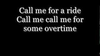 Blondie - Call Me Lyrics HD