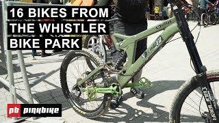 16 Bike Checks from Whistler Bike Park Opening Weekend