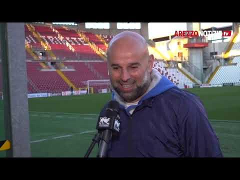 Triestina-Arezzo 2-2 - Intervista a mister Stellone