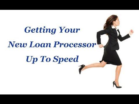 New Loan Processor Training Class - YouTube