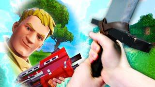 Realistic Minecraft In FORTNITE?!