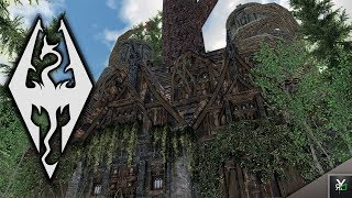 DROGHEDA- LEGEND OF THE DRUID: Player Home Mod!!- Xbox Modded Skyrim Mod Showcase