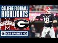 Mississippi State vs #13 Georgia Highlights: JT Daniels has 4 TD game  | CBS Sports HQ
