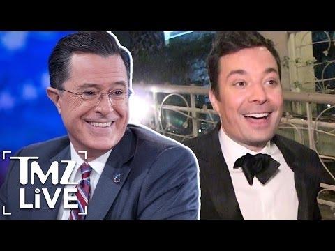 Jimmy Fallon Vs. Stephen Colbert: Late Night War | TMZ Live