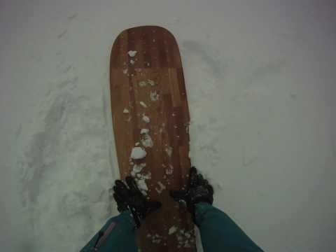 "snowsurfing alaia ""YUKIITA"" Longboard Noserider vol.1"