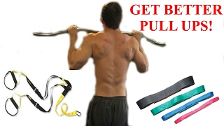 3 Moves to Your First Pull Up (For Beginners-Advanced!)