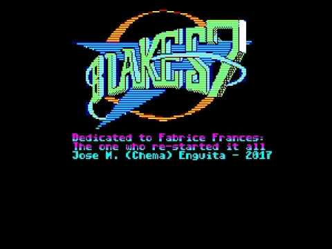 Blake's 7: The Oric game - Final intro