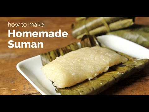 Download How To Make Homemade Suman | Yummy Ph HD Mp4 3GP Video and MP3