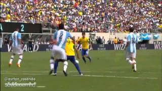 Gols - Brasil 3 X 4 Argentina - Amistoso Internacional - 09/06/2012 - Globo HD