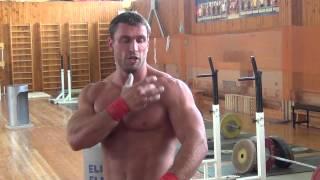 Dmitriy Klokov - Bench press 170 kg on 3 reps - Most Popular