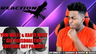 GAY HIP HOP! YNW Melly ft. Kanye West - Gay Personalities | REACTION