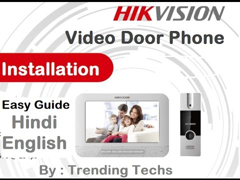 Hikvision Video Door Phone Installation