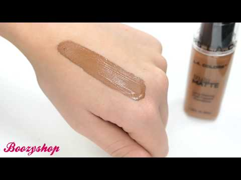 LA Colors LA Colors Truly Matte Foundation Mahogany