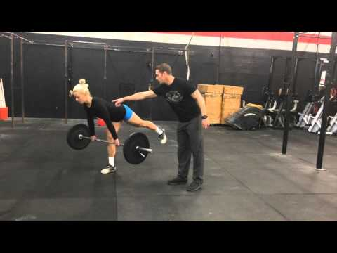 Single-Leg Deadlift with Barbell