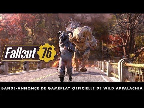 Bande-annonce de gameplay officielle de Wild Appalachia de Fallout 76