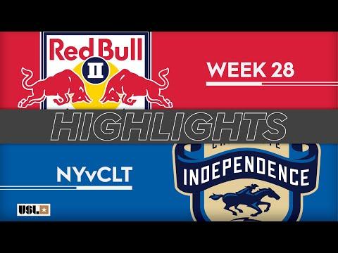 Нью-Йорк Ред Буллз-2 - Шарлотт Индепенденс 2:0. Видеообзор матча 14.09.2019. Видео голов и опасных моментов игры