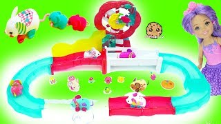 Little Live Pets Lil' Mouse Fun Park Race Track with Mom & Baby Mice - Cookie Swirl C