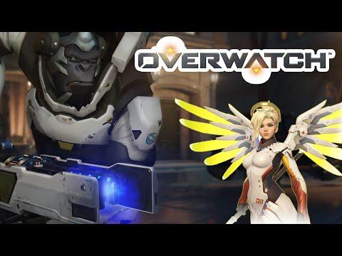 Overwatch убойная связка обезьяна и ангел