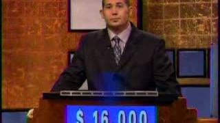 Strangest Jeopardy Ending Ever