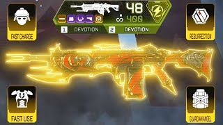 Being FULLY GOLDEN with DUAL DEVOTION in Apex Legends
