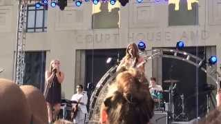 Lennon and Maisy Boom Clap @ Live on the Green Nashville TN September 12, 2015