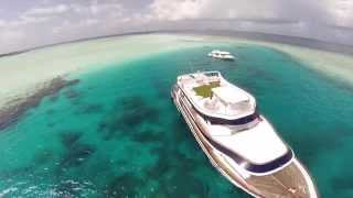 Fly fishing in the Maldives on board Ocean Divine