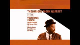 Thelonious Monk - Live Zurich 1964