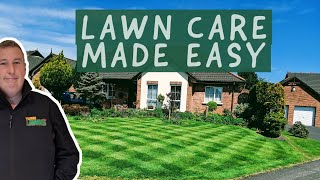 5 SIMPLE steps to a PERFECT lawn - lawn care for beginners