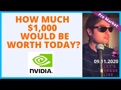 NVIDIA How Much Would $1,000 be today if invested at the Dot-Com Bubble?