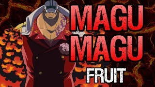 Akainu's Magma-Magma Fruit Explained - One Piece Discussion