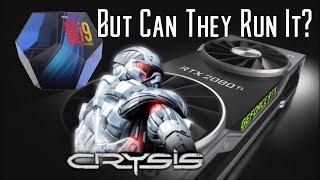 2080ti and 9900k Vs CRYSIS