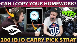 Secret Copy IO Wisp Carry Strategy from Team OG - WTF 23min GG Stomp vs Vici Gaming TI9 DOTA 2