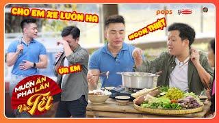 Lê Dương Bảo Lâm chơi HẾT MÌNH, ăn HẾT HỒN gom sạch tiền, xe và đồ ăn của Trường Giang | MAPLVB Tết