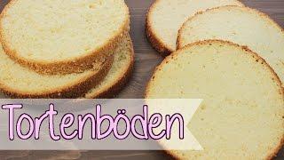 TORTENBODEN Selber Machen [Grundrezept Für Torten] BISKUIT & WUNDERKUCHEN Backen [Rezept]