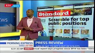 Scramble for top public positions