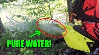 RM250 RUNS ON WATER!