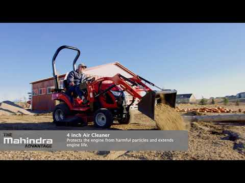2020 Mahindra eMax 20S HST Cab in Berlin, Wisconsin - Video 1