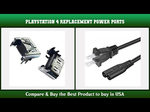 Top 10 Playstation 4 Replacement Power Ports to buy in USA 2021   Price & Review
